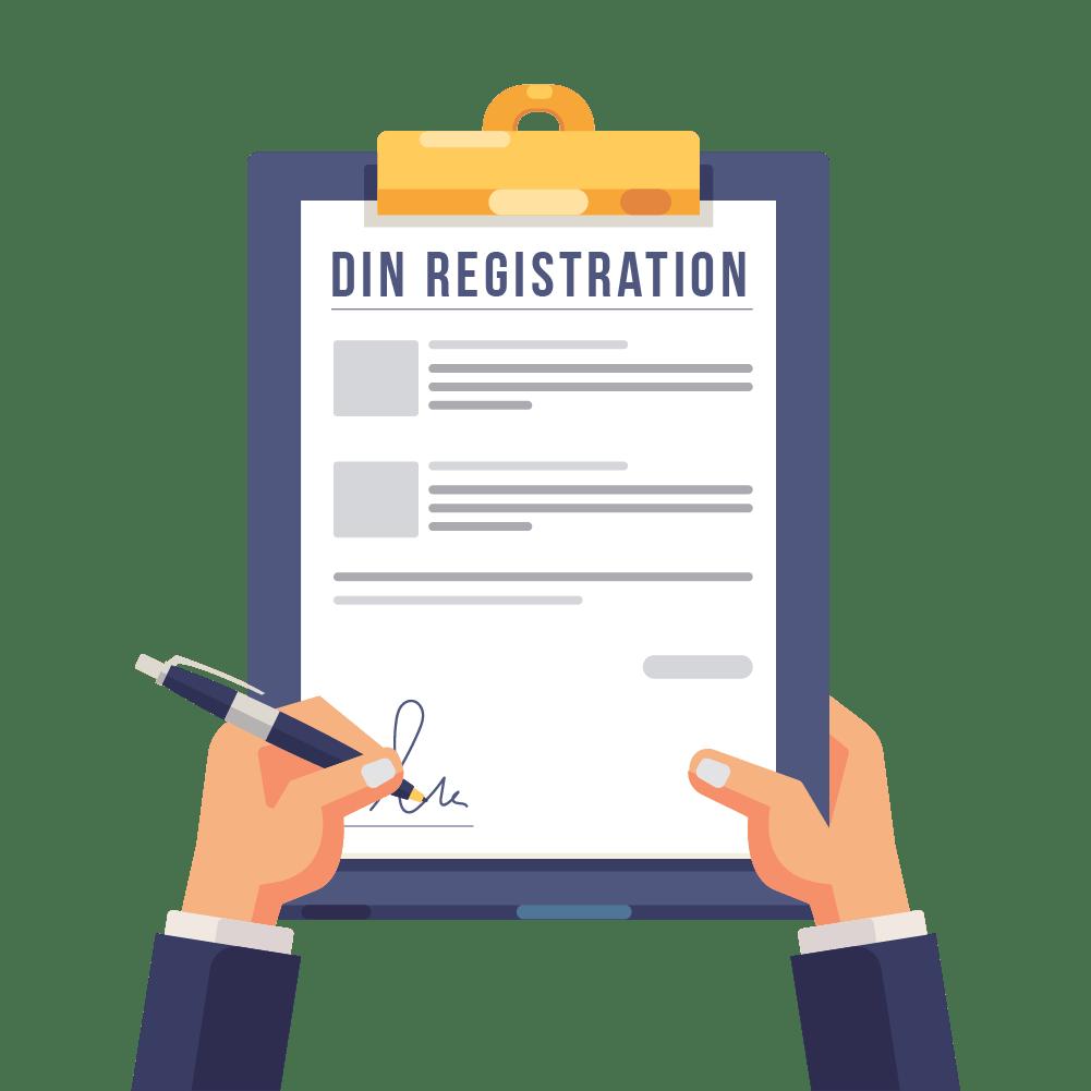 ICI Slider Image Din registration