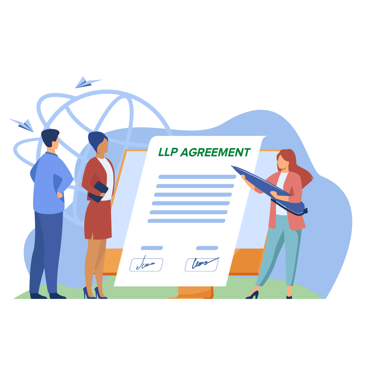 Changes in LLP agreement