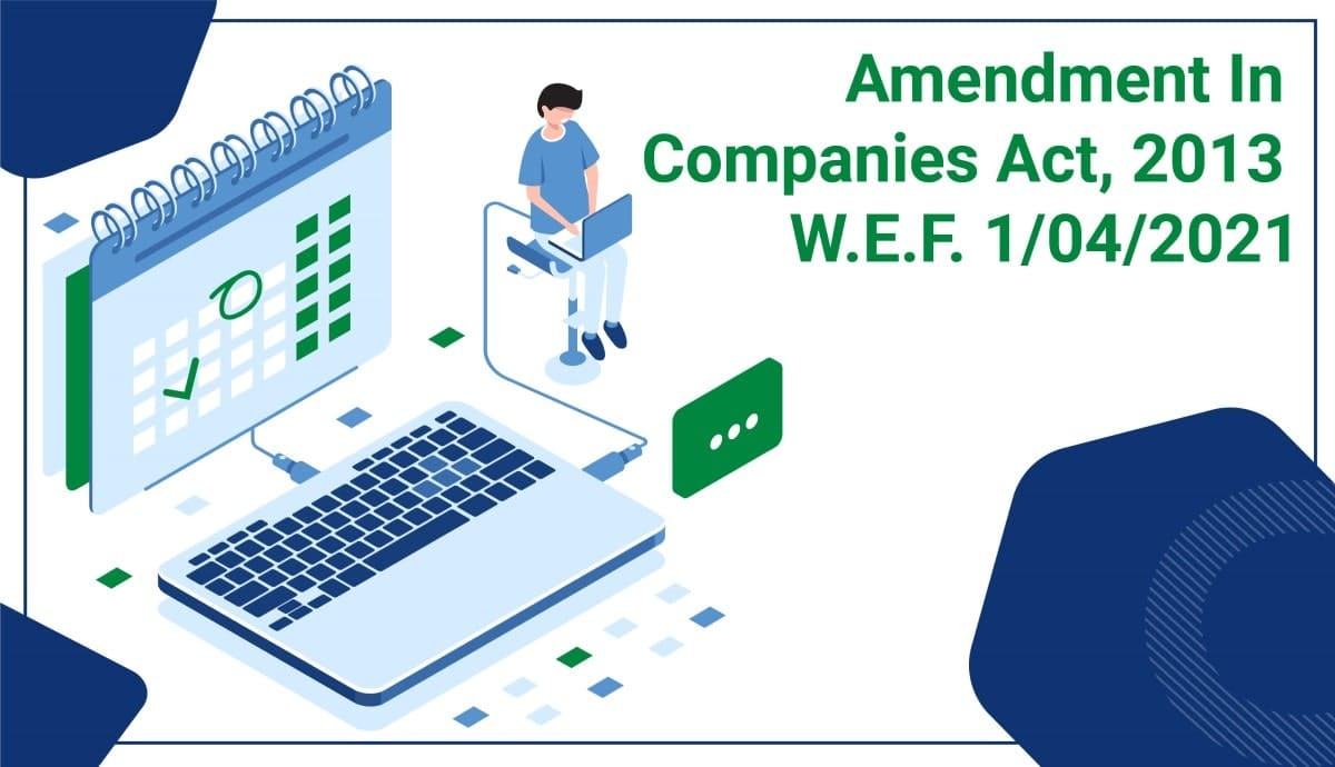 amendment in companies act