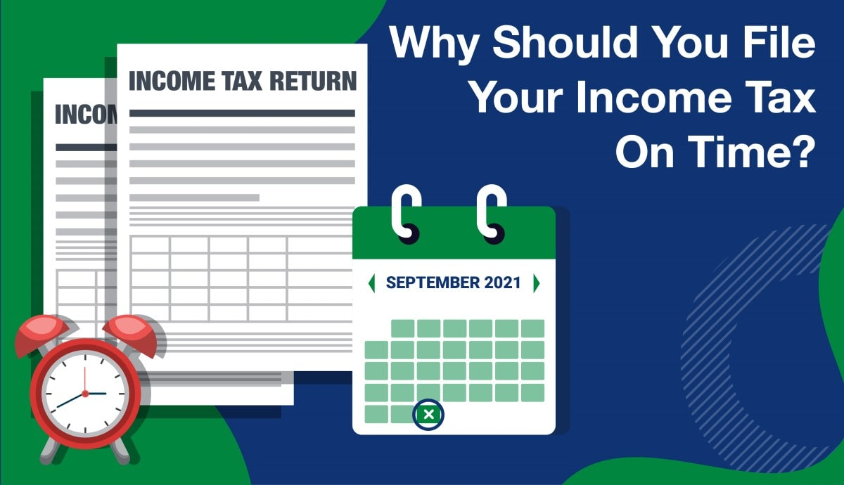 income tax return on time
